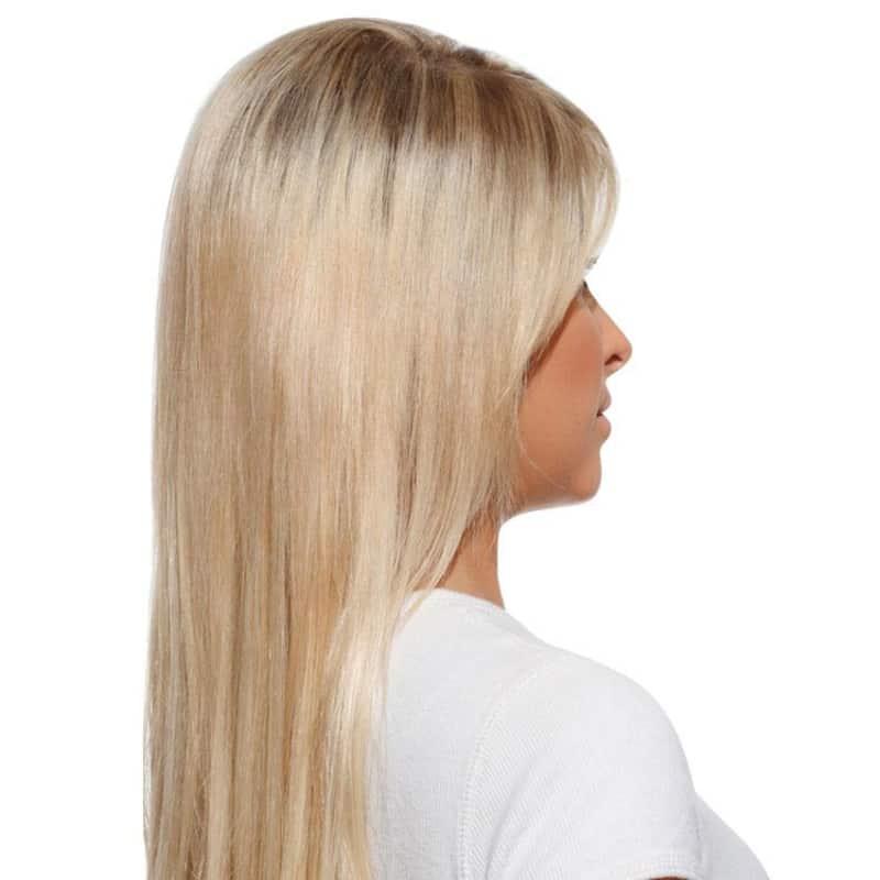 Hairdo Louro Sueco - Aplique Liso em Camadas 48cm