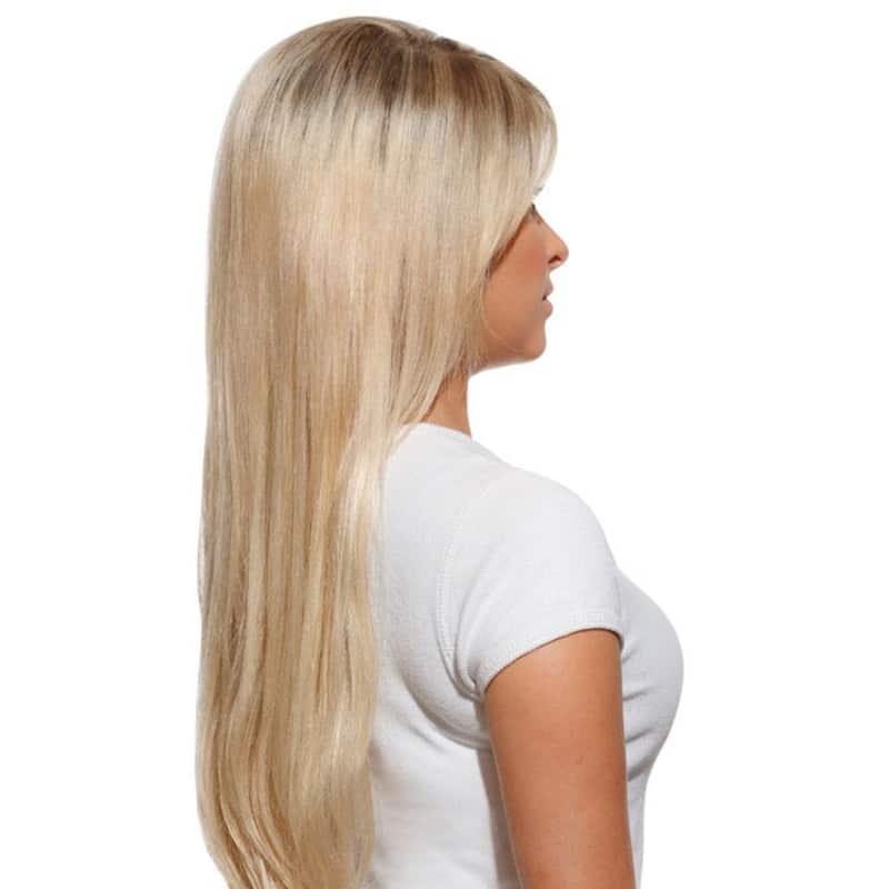 Hairdo Louro Sueco - Aplique Liso em Camadas 63cm
