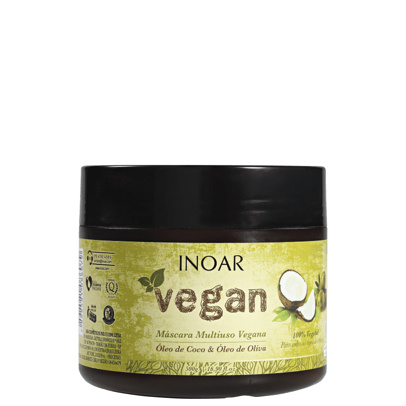 Máscara Vegan de Nutrição 500g