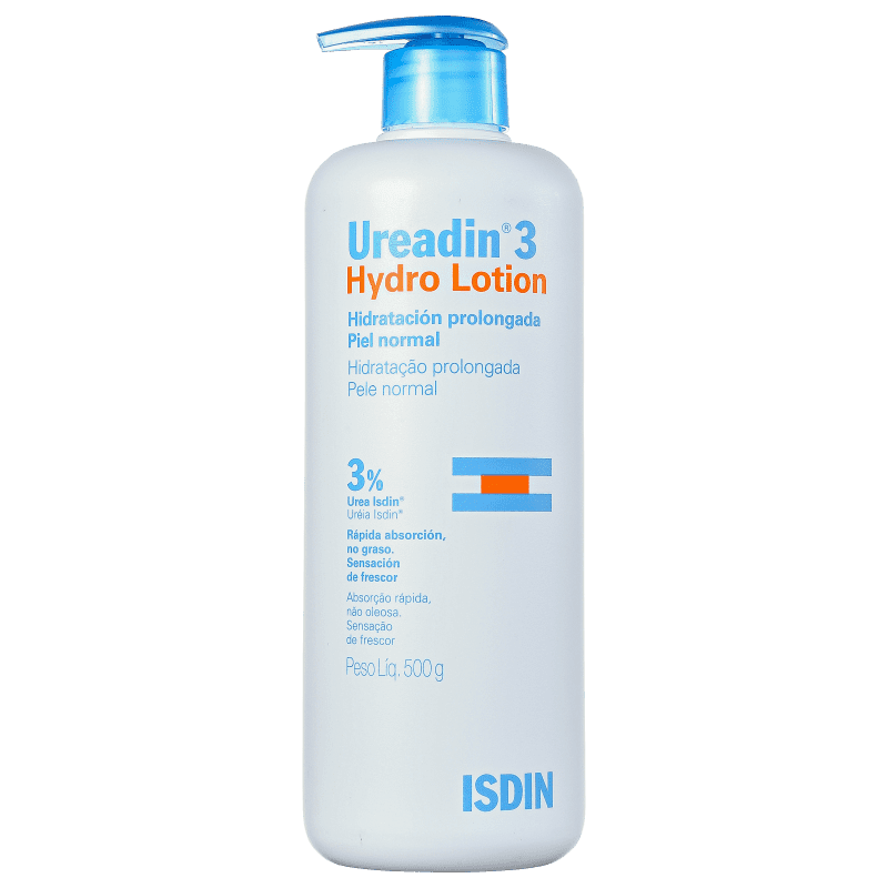 ISDIN Ureadin 3 Hydro Lotion - Loção Hidratante Corporal 500g