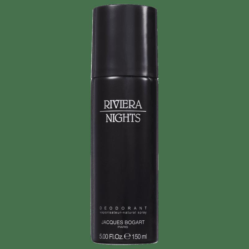 Jacques Bogart Riviera Nights Deo Spray Masculino - Desodorante Corporal 150ml