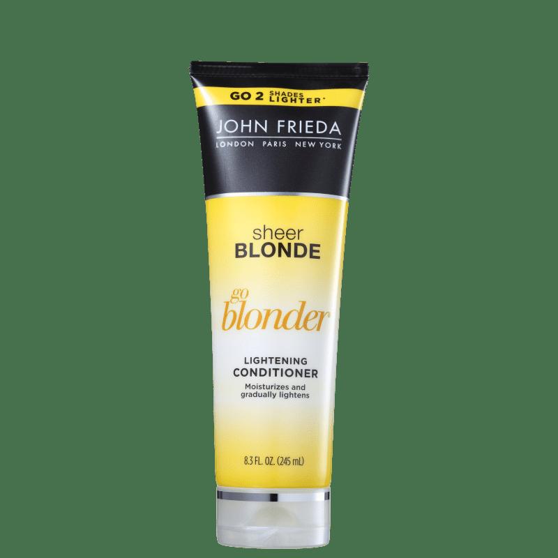 John Frieda Sheer Blonde Go Blonder Lightening All Blondes - Condicionador 245ml