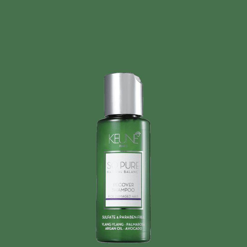 Keune So Pure Recover - Shampoo sem Sulfato 50ml