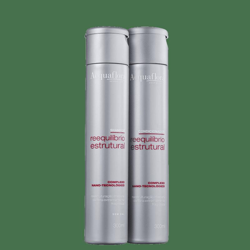 Kit Acquaflora Reequilíbrio Estrutural Duo (2 Produtos)