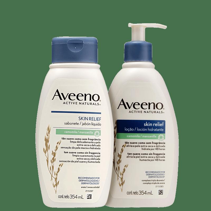 Kit Aveeno Skin Relief Camomila Duo (2 Produtos)