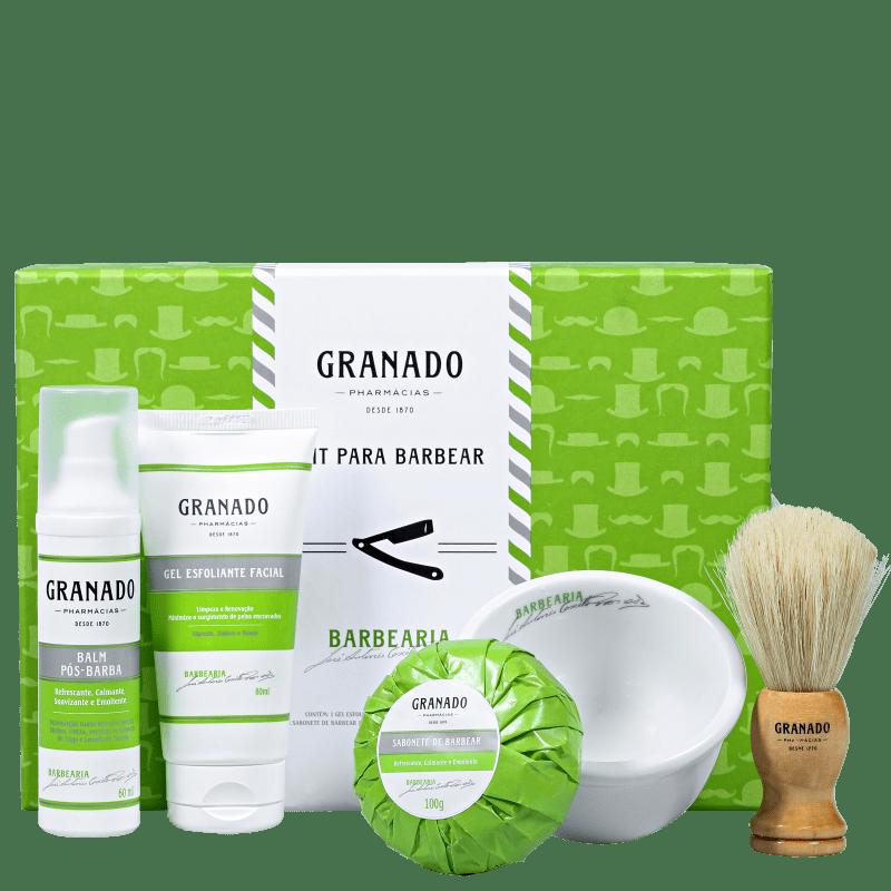 Kit Barba Granado para Barbear (5 Produtos)