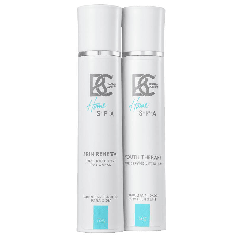 Kit Brazilian Concept Skin Renewal Youth Therapy Day Cream and Lift (2 produtos)