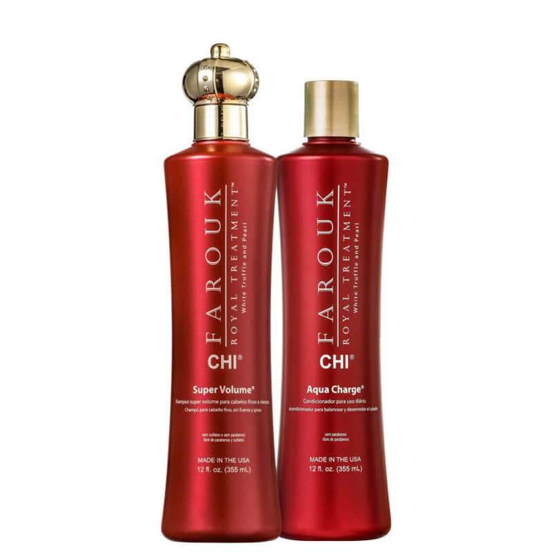 Kit CHI Farouk Royal System Volume Charge Duo (2 Produtos)