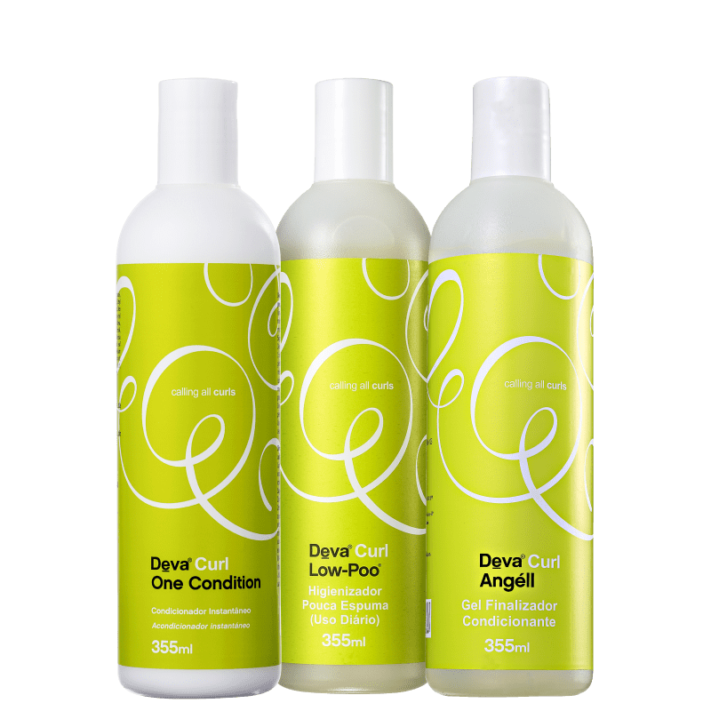 Kit Deva Curl Angell (3 Produtos)