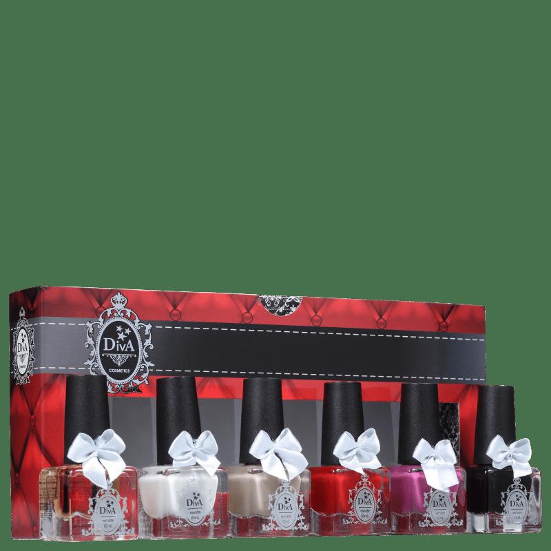 Kit Diva Cosmetics Essenciais (6 Produtos)