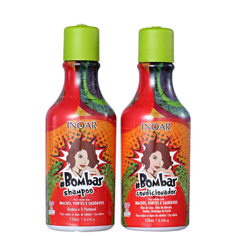 Kit #Bombar (Shampoo e Condicionador) 250ml