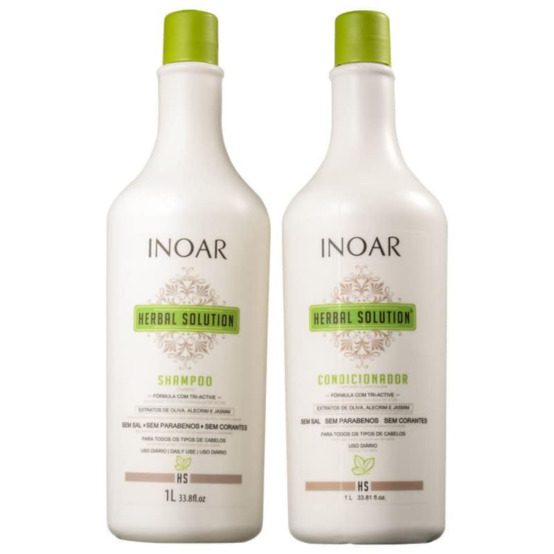 Kit Herbal Solution Profissional (Shampoo e Condicionador) 1000ml