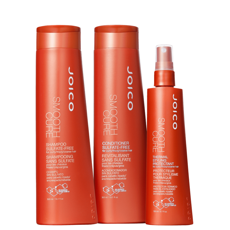 Kit Joico Smooth Cure Styling (3 Produtos)
