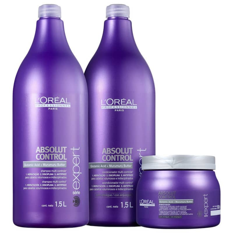 Kit L'Oréal Professionnel Expert Absolut Control Power Salon (3 Produtos)