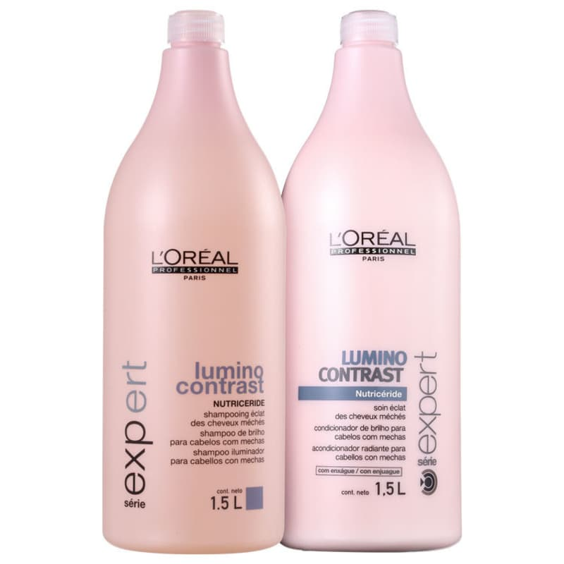 Kit L'Oréal Professionnel Expert Lumino Contrast Salon (2 Produtos)