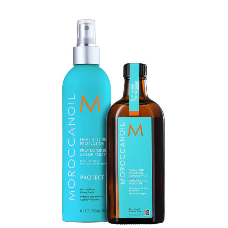 Kit Moroccanoil Treatment Heat Styling (2 Produtos)