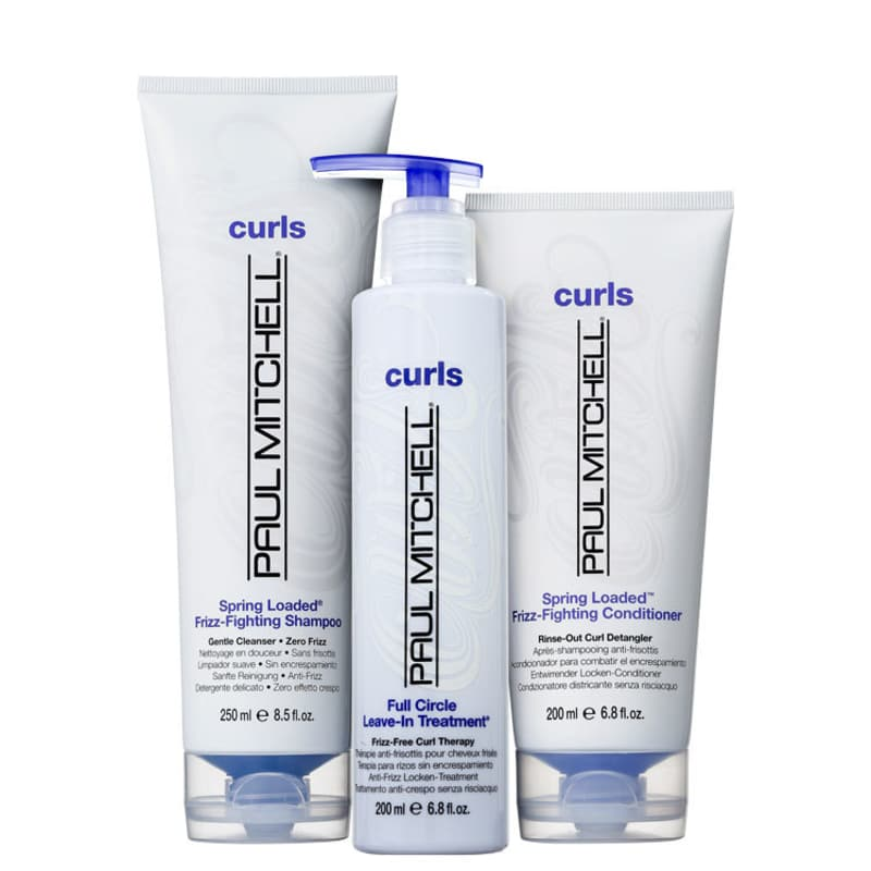 Kit Paul Mitchell Curls Spring Loaded Full Circle (3 Produtos)