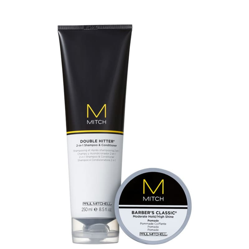 Kit Paul Mitchell Mitch Barber's Hitter (2 Produtos)