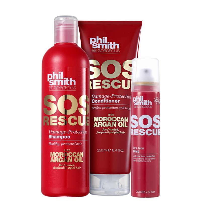 Kit Phil Smith SOS Rescue Hot Protection (3 Produtos)