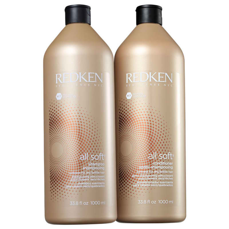 Kit Redken All Soft Salon (2 Produtos)