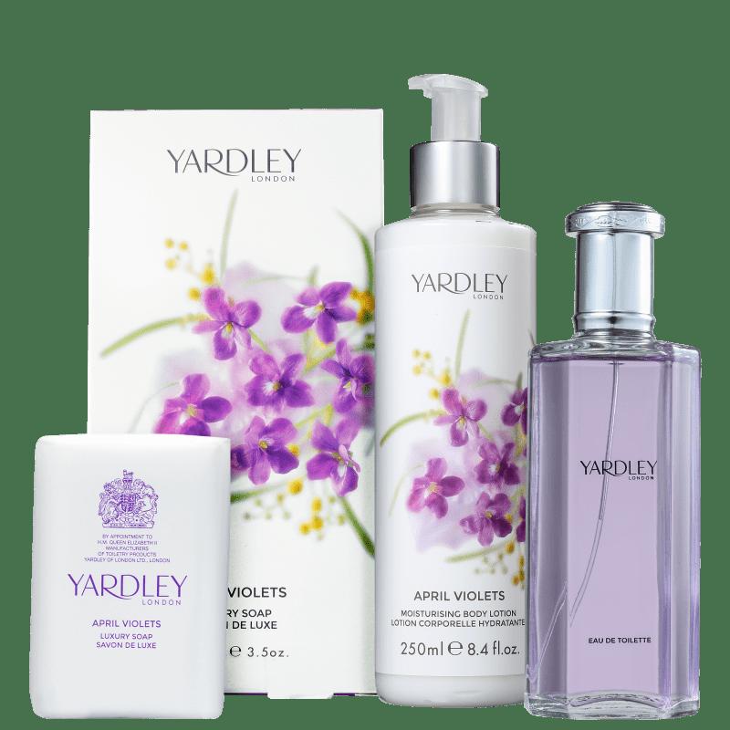 Kit Yardley April Violets (3 Produtos)