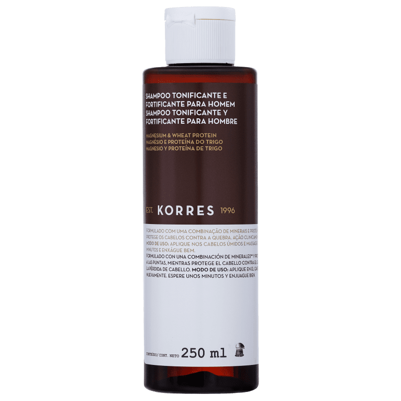 Korres Magnesium & Wheat Protein - Shampoo sem Sulfato 250ml