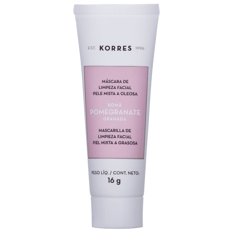 Korres Pomegranate - Máscara de Limpeza Facial 16g