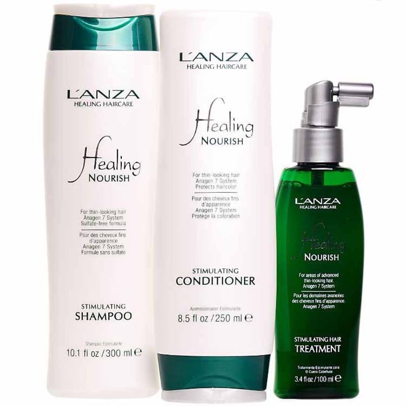 L'Anza Healing Nourish Kit (3 Produtos)