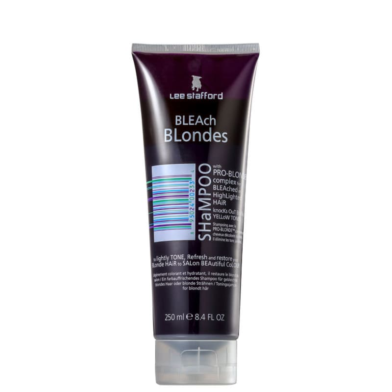 Lee Stafford Bleach Blondes - Shampoo Desamarelador 250ml