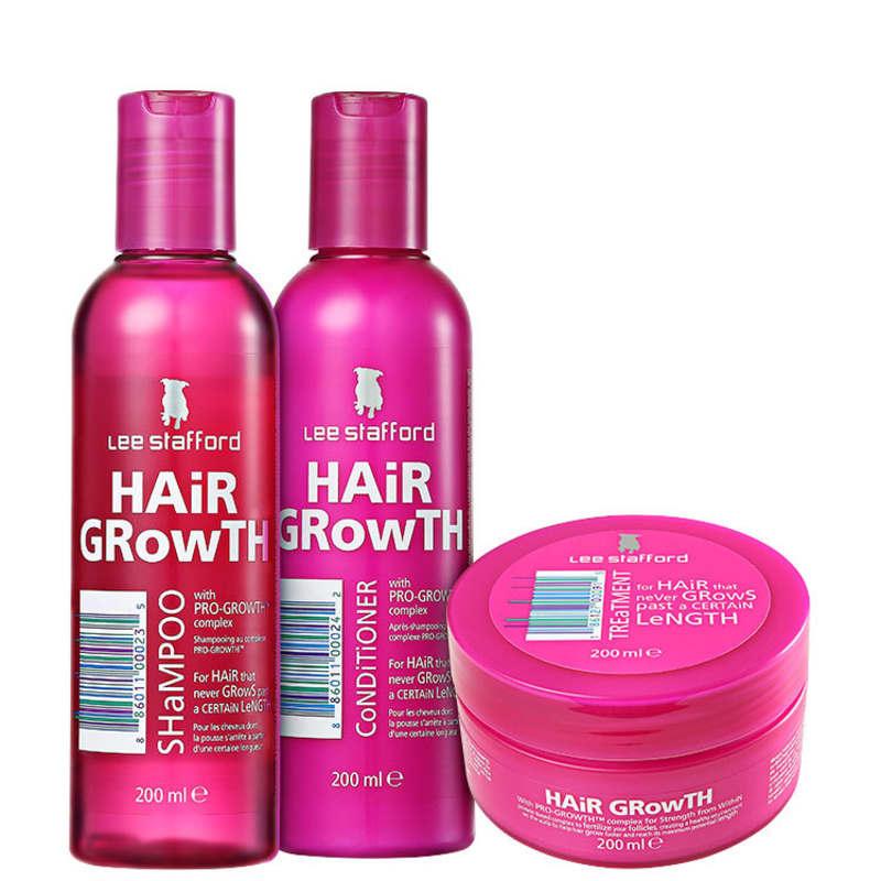 Kit Lee Stafford Hair Growth Treatment (3 Produtos)