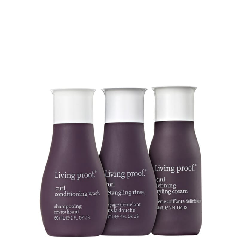 Kit Living Proof Curl Styling Travel (3 Produtos)