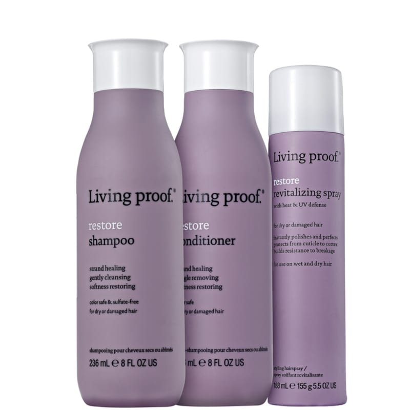 Kit Living Proof Restore Revitalizing (3 Produtos)
