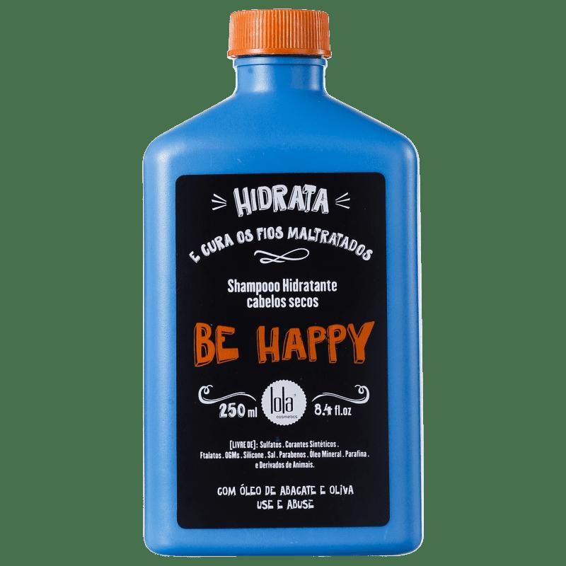 Lola Cosmetics Be Happy - Shampoo sem Sulfato 250ml