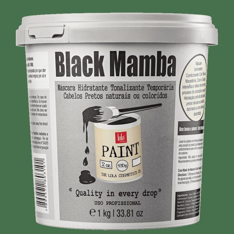 Lola Cosmetics Black Mamba - Máscara Tonalizante 1000g