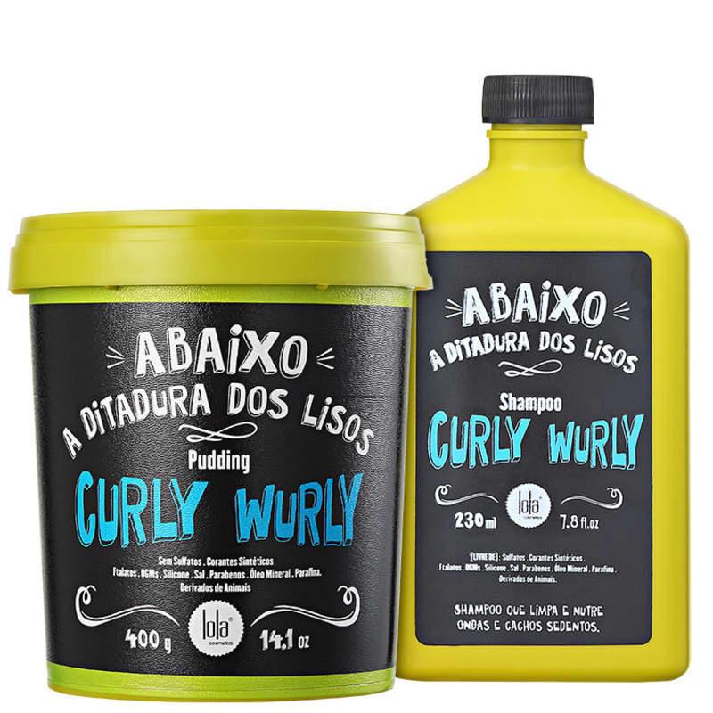 Kit Lola Cosmetics Curly Wurly Duplo (2 Produtos)