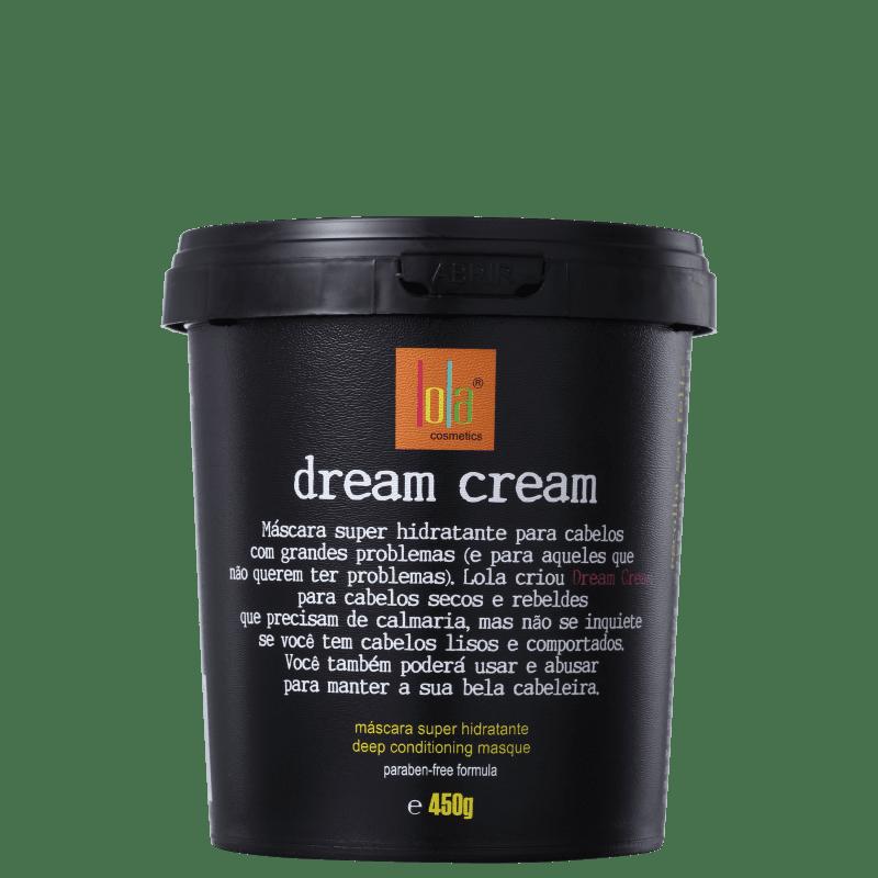 Lola Cosmetics Dream Cream - Máscara de Hidratação 450g