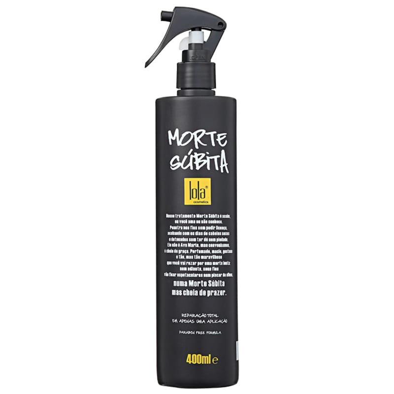 Lola Cosmetics Morte Súbita - Spray Reparador de Pontas 400ml