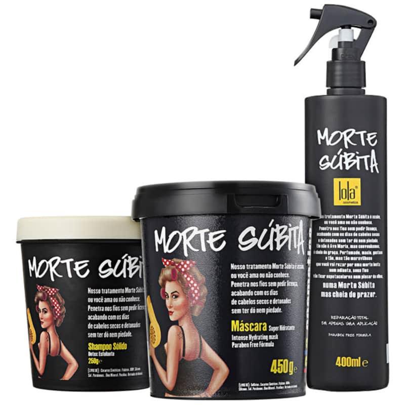 Kit Lola Cosmetics Morte Súbita Trio (3 Produtos)