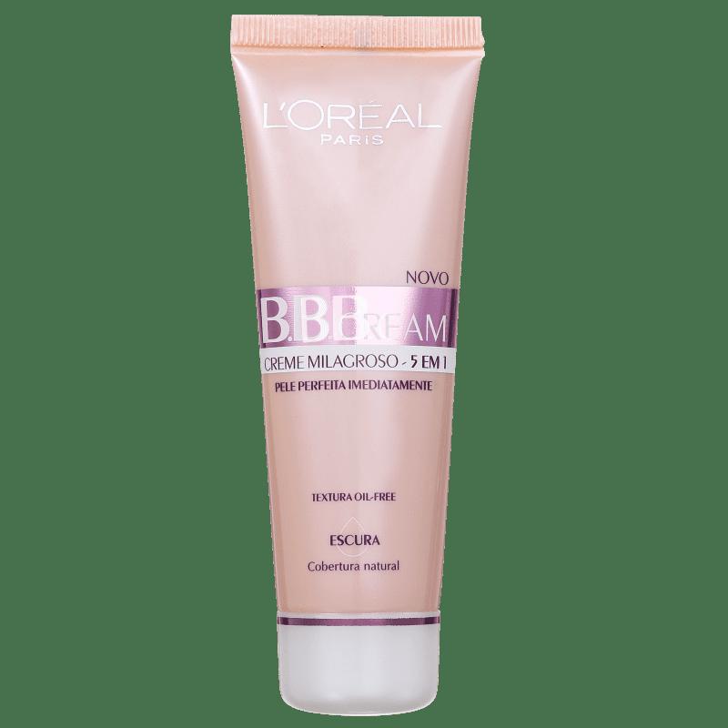 L'Oréal Paris 5 em 1 FPS 20 Escura - BB Cream 50ml