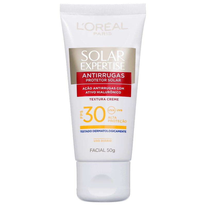 L'Oréal Paris Solar Expertise Antirrguas FPS 30 - Protetor Solar Facial 50g