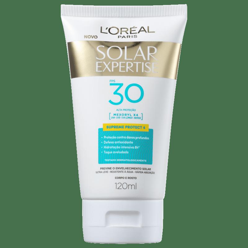 L'Oréal Paris Solar Expertise Supreme Protect 4 FPS 30 - Protetor Solar Facial 120ml