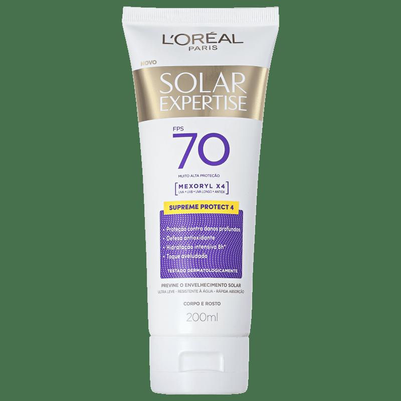 L'Oréal Paris Solar Expertise Supreme Protect 4 FPS 70 - Protetor Solar Facial 200ml
