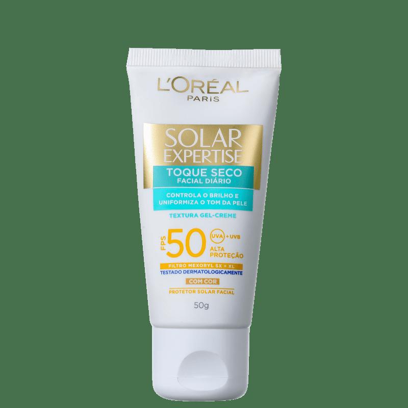 L'Oréal Paris Solar Expertise Toque Seco FPS 50 - Protetor Solar com Cor 50g