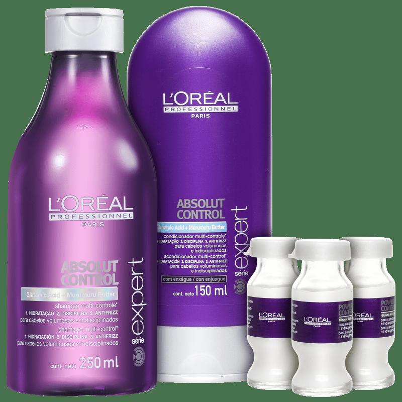 Kit L'Oréal Professionnel Expert Absolut Control Treatment (3 Produtos)