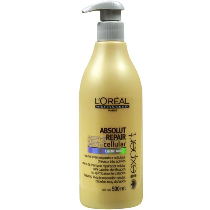 L'Oréal Professionnel Absolut Repair Cellular - Shampoo Creme 500ml