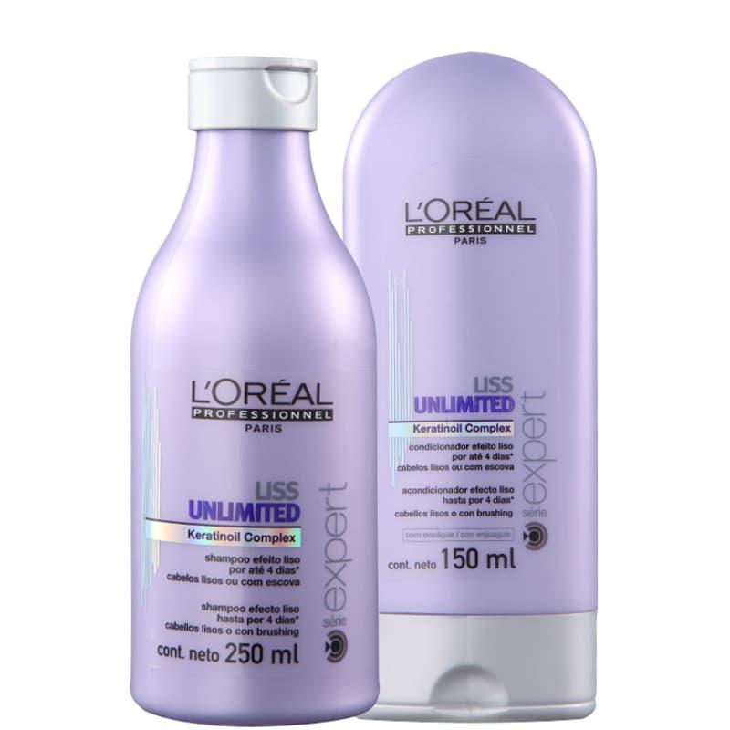 Kit L'Oréal Professionnel Expert Liss Unlimited Duo (2 Produtos)
