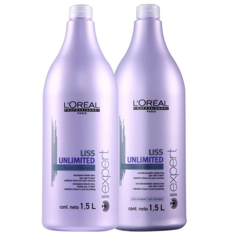 Kit L'Oréal Professionnel Expert Liss Unlimited Salon (2 Produtos)