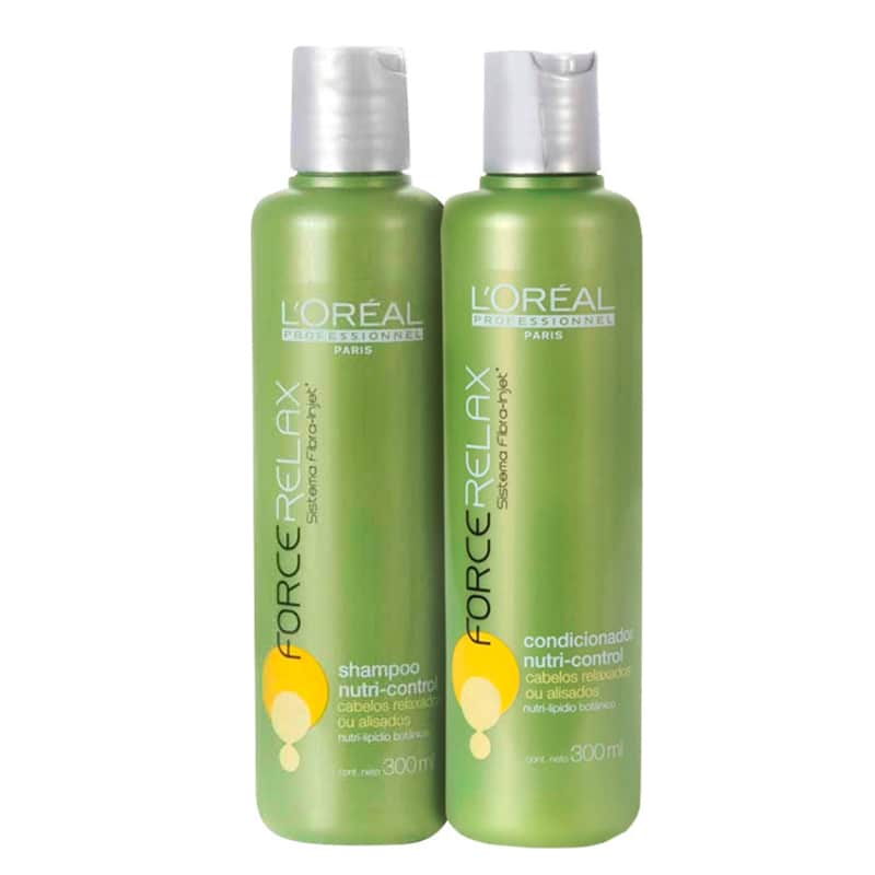 Kit L'Oréal Professionnel Expert Force Relax Nutri-Control Duo (2 Produtos)