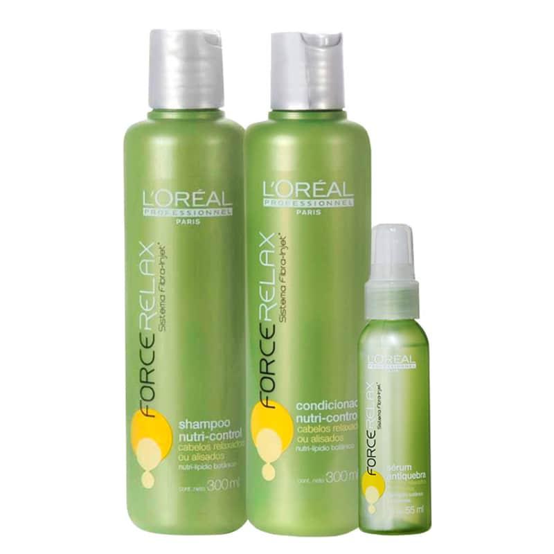 L'Oréal Professionnel Nutri-Control Force Relax Repair Kit (3 Produtos)