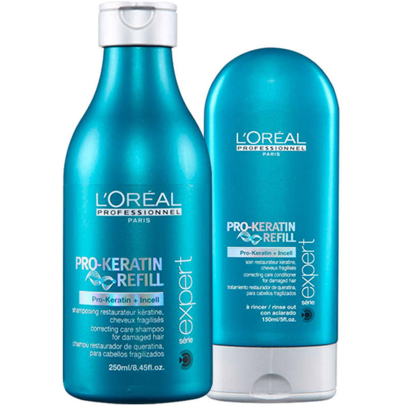 Kit L'Oréal Professionnel Expert Pro-Keratin Refill Duo (2 Produtos)